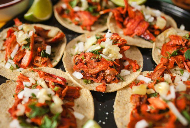 Tacos al Pastor receta casera